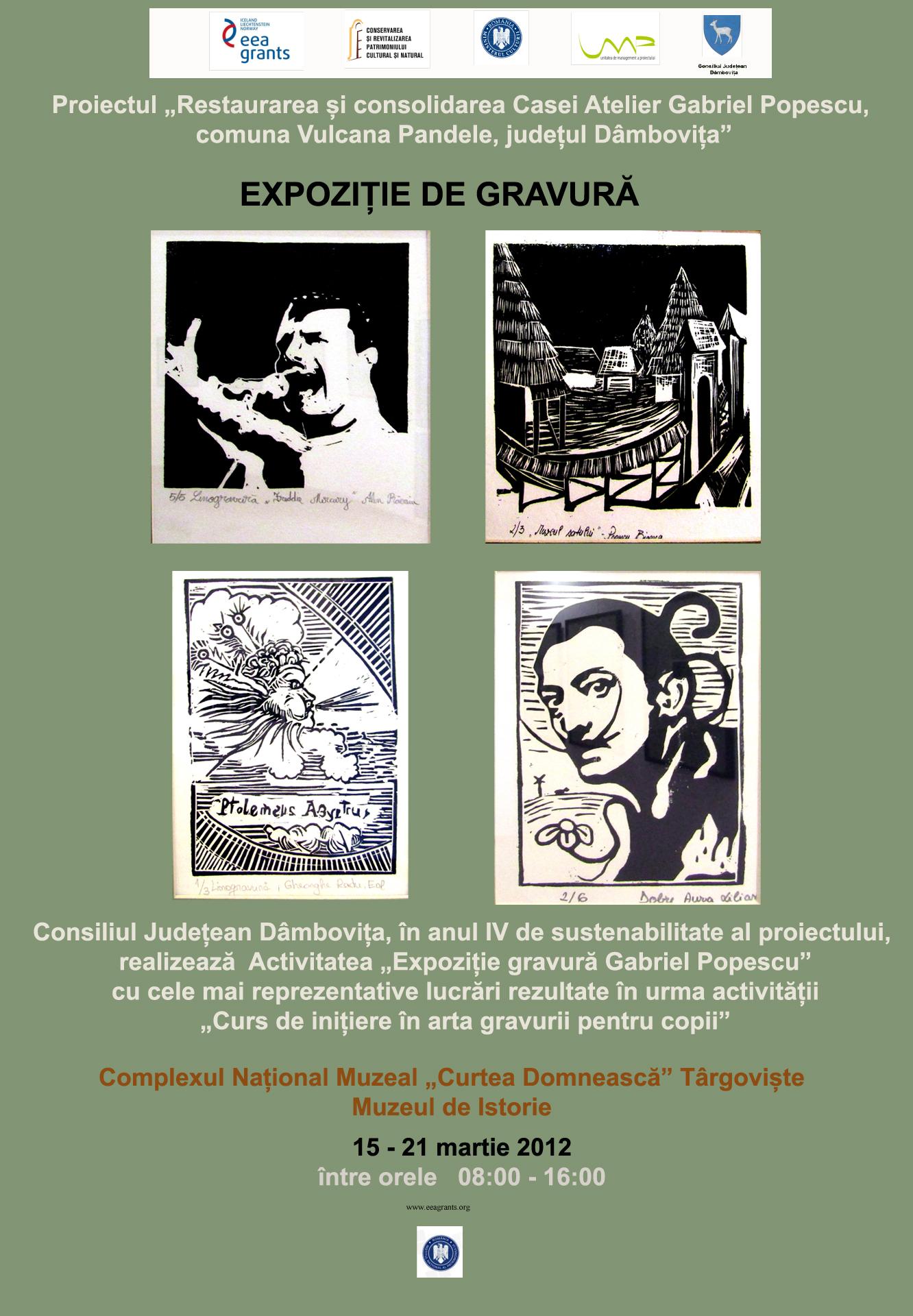 afis expo gravura